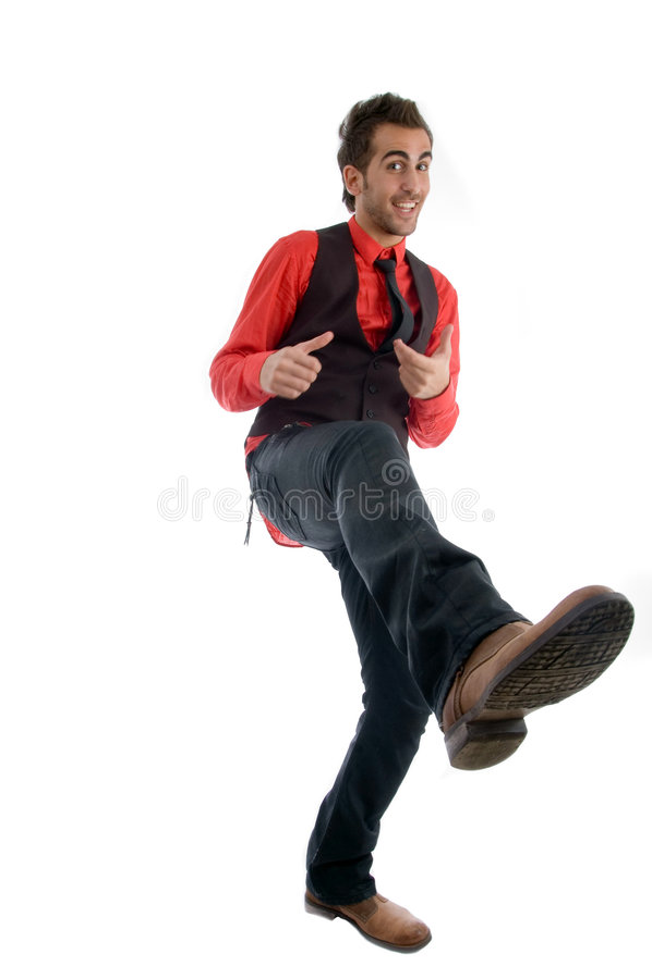 cool dancer male στοκ εικόνες
