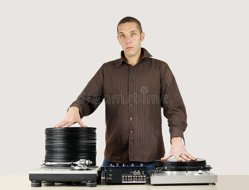 Download Cool dj stock image. Image of entertainment, plastic, disc - 3633667