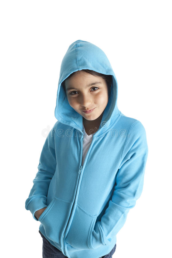 Download Cool eight year old girl stock image. Image of white - 19754649