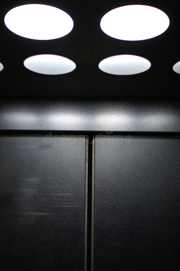 Download Cool elevator stock photo. Image of scary, lighted, background - 1404236