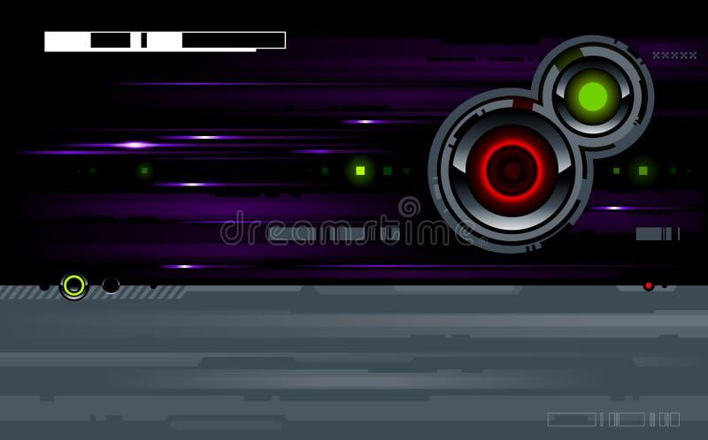 Cool futuristic background