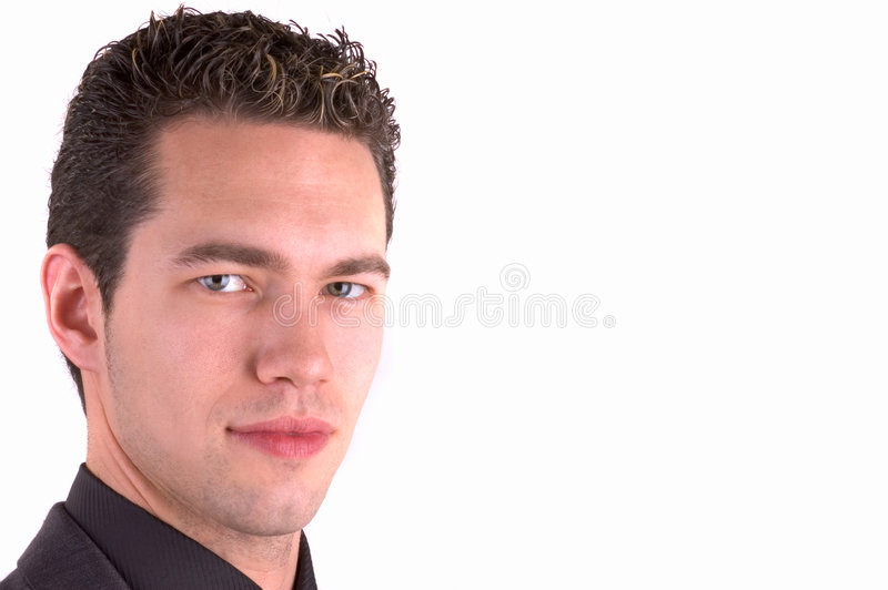 Cool Guy (Space For Text) royalty free stock photos