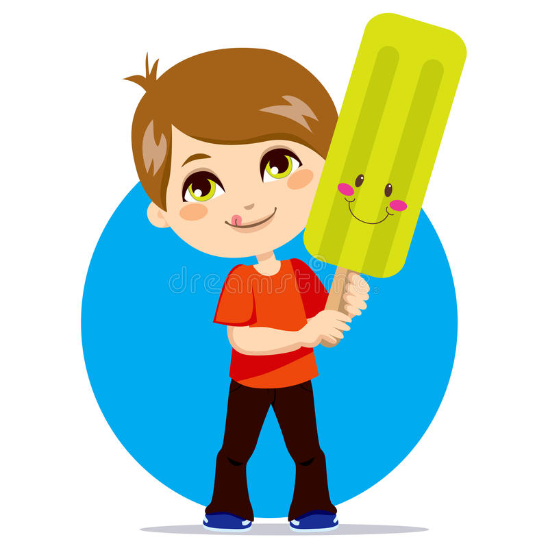 Download Cool Ice Pop stock vector. Illustration of person, children - 18555714
