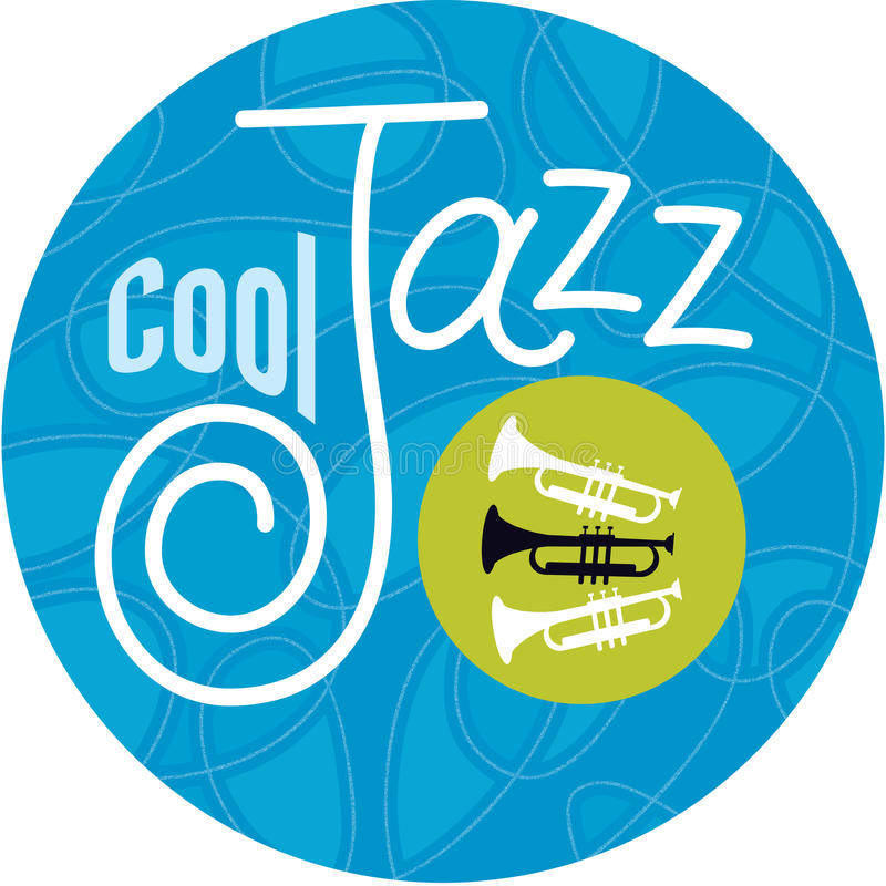 Cool Jazz Trumpets. Hot jazz, cool jazz, the trumpets play on! Horn player or not, show the world where you stand with this unique, custom design by Jazz: Cool vector illustration