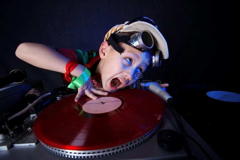 Cool Kid DJ Stock Image