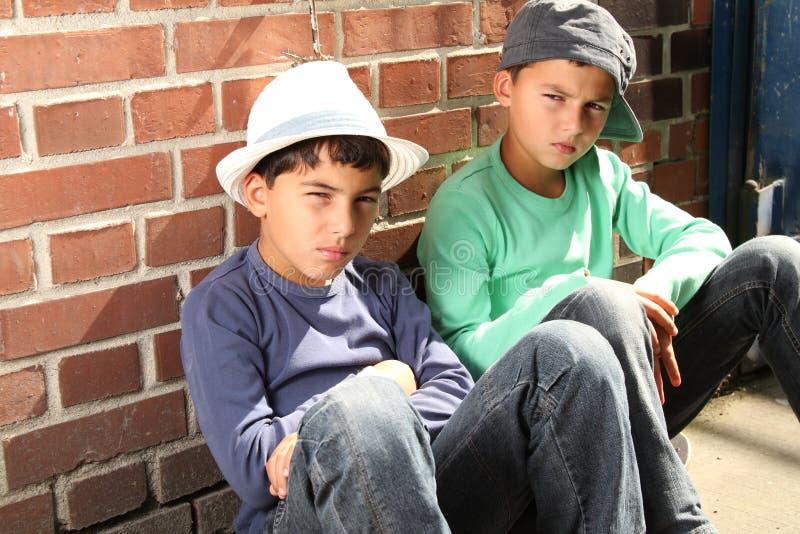 Download Cool kids stock image. Image of kids, boys, waiting, boring - 16827081
