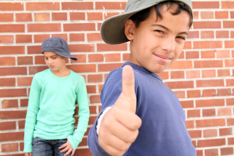 Cool kids stock photo Image of standing waiting cool 16827114