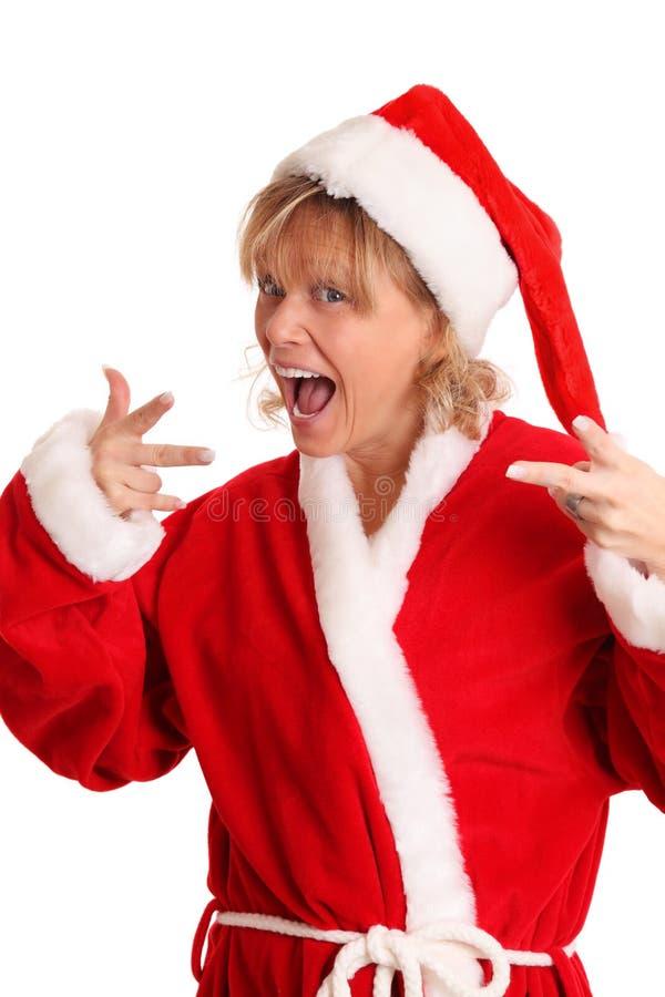 Cool Looking Santa Royalty Free Stock Photo