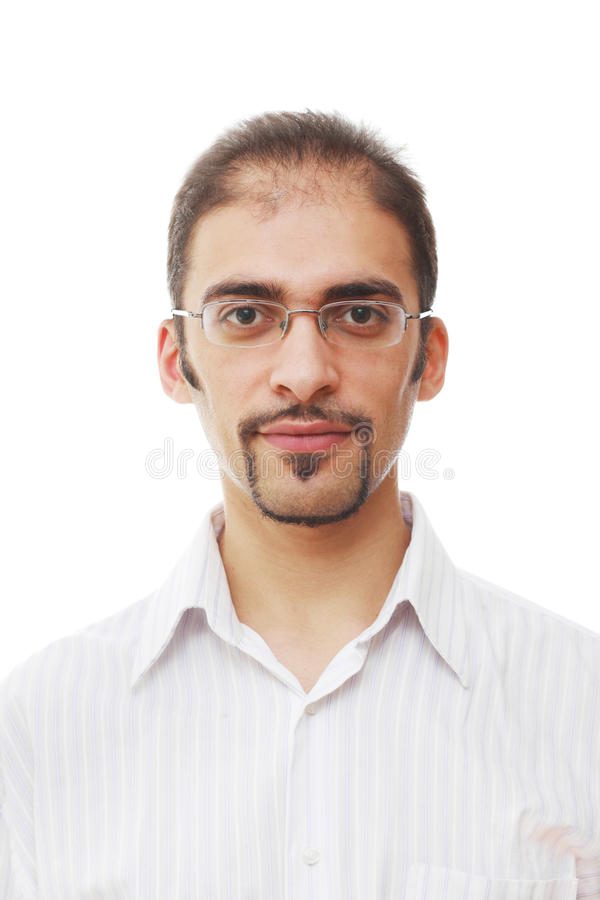 Cool male portrait royalty free stock image