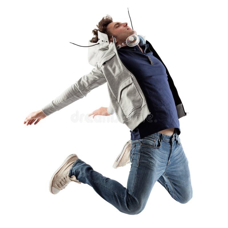 Cool Man Jumping stock photos
