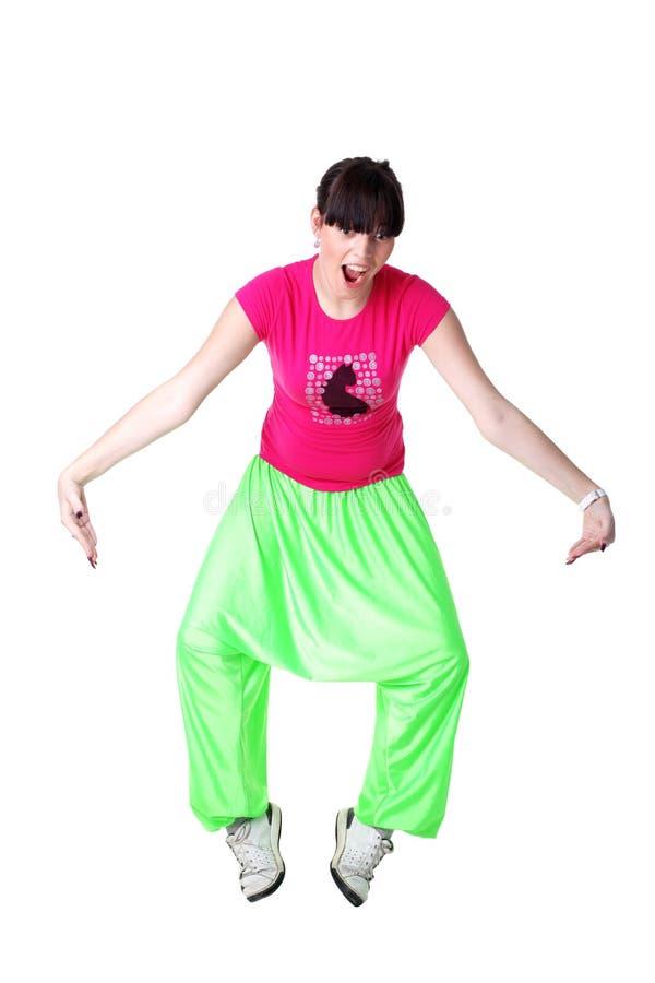 Download Cool modern woman dancer stock photo. Image of shirt - 12341350