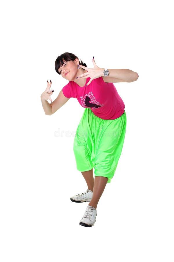 Download Cool modern woman dancer stock image. Image of shirt - 12693365