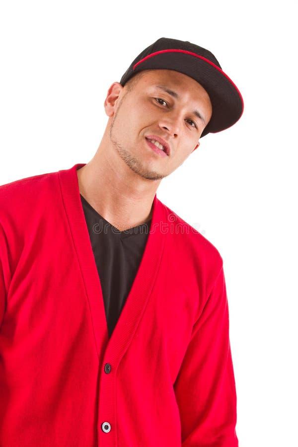 cool modnego odosobnionego mężczyzna obrazy stock