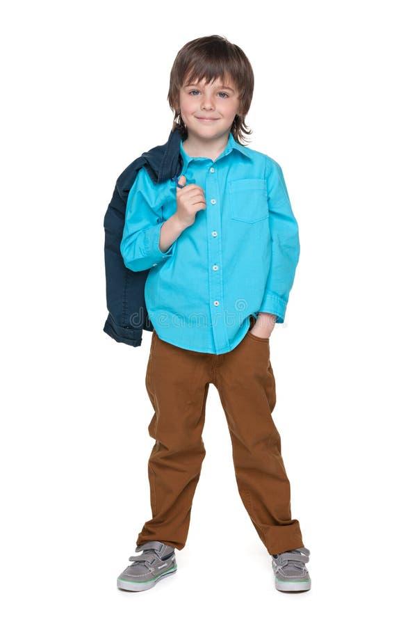 Download Cool mody chłopiec zdjęcie stock. Obraz złożonej z positivity - 41951412