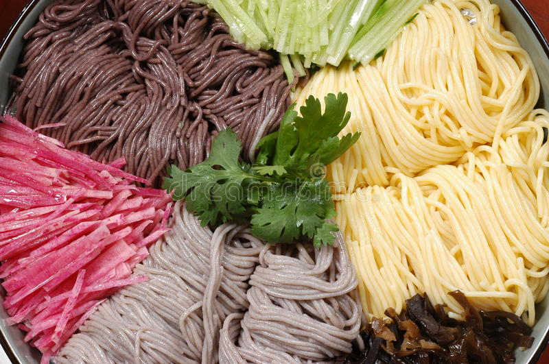 Cool Noodle Royalty Free Stock Image
