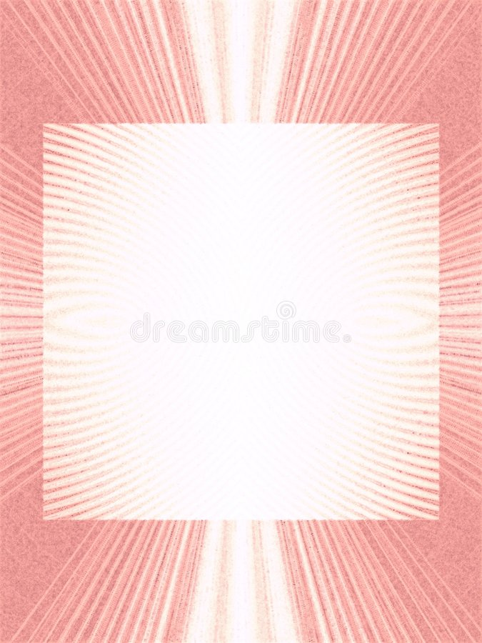 Cool Pink Striped Photo Frames vector illustration