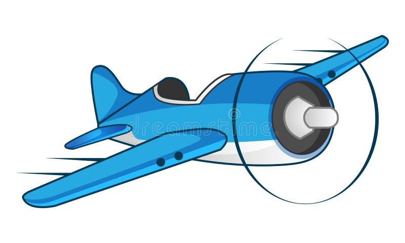 Cool Plane Illustration royalty free stock image