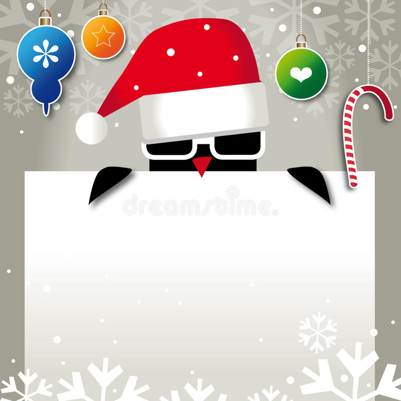 Cool Santa stock illustration