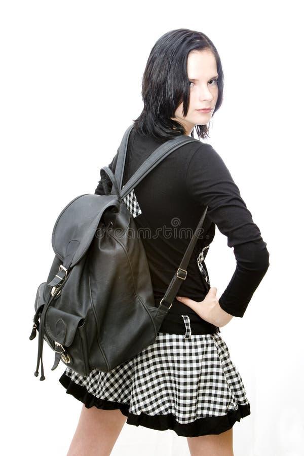 Cool schoolgirl stock photos