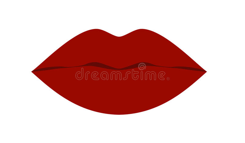 Cool Lips stock illustration