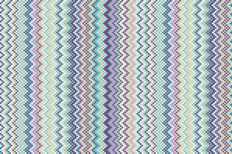 Cool Stonowanego szewronu Bezszwową tapetę ilustracji