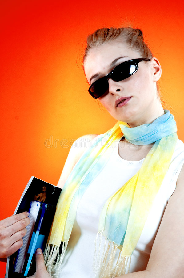 Download Cool Student Royalty Free Stock Photo - Image: 1343565