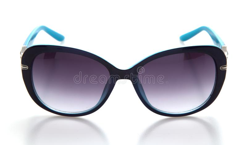 Cool sunglasses isolated on white background stock photography