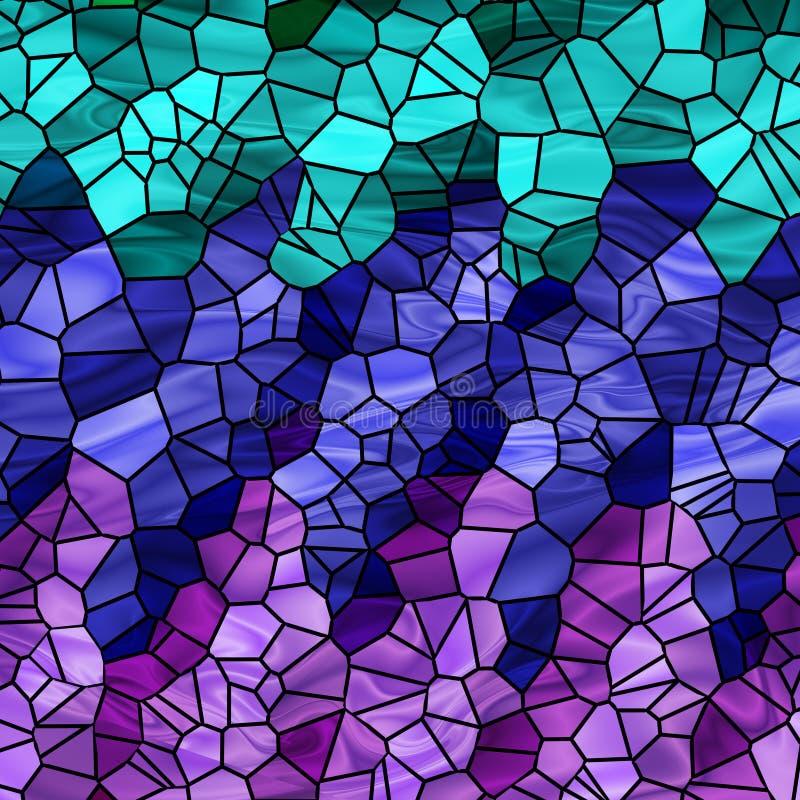 Cool Tiles stock illustration