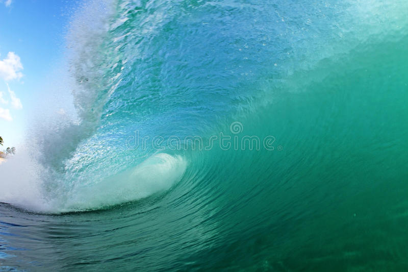 Cool wave royalty free stock images
