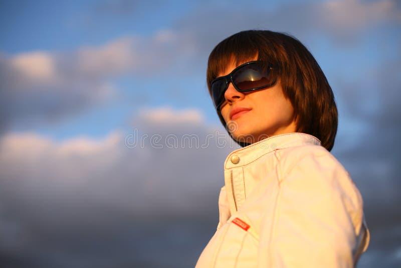 cool woman young στοκ φωτογραφίες