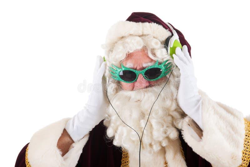 Coole Weihnachtsmann stockbilder