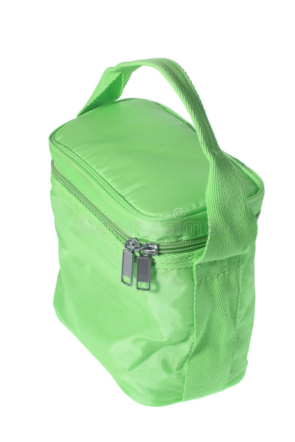 Cooler Bag. On White Background royalty free stock image