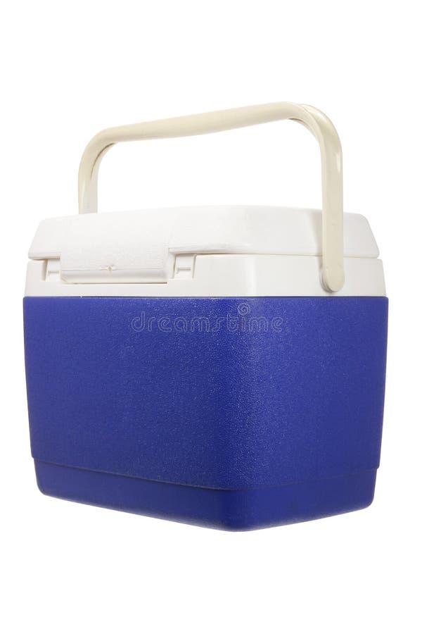 Cooler Box. On White Background royalty free stock photo