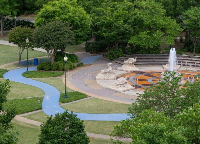 Coolidge Park royalty free stock photos