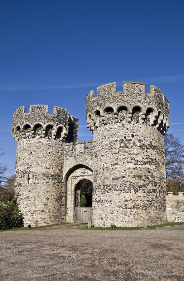 Download Cooling Castle stock photo. Image of architectural, fort - 27744234