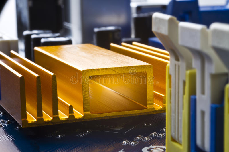 Download Cooling element stock photo. Image of computer, orange - 22325104