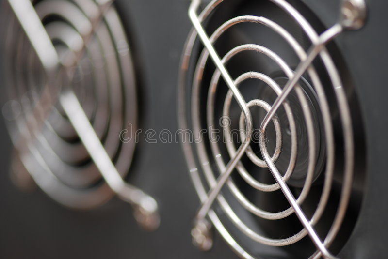 Cooling fan royalty free stock images