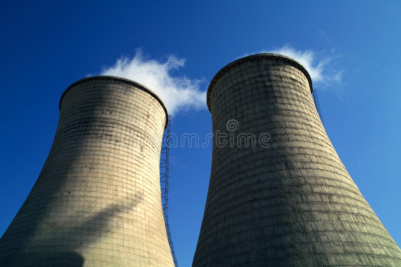 Download Cooling tower stock image. Image of plant, power, smoke - 11387793