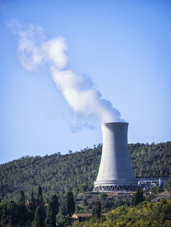 Download Cooling Tower Royalty Free Stock Photos - Image: 35011678