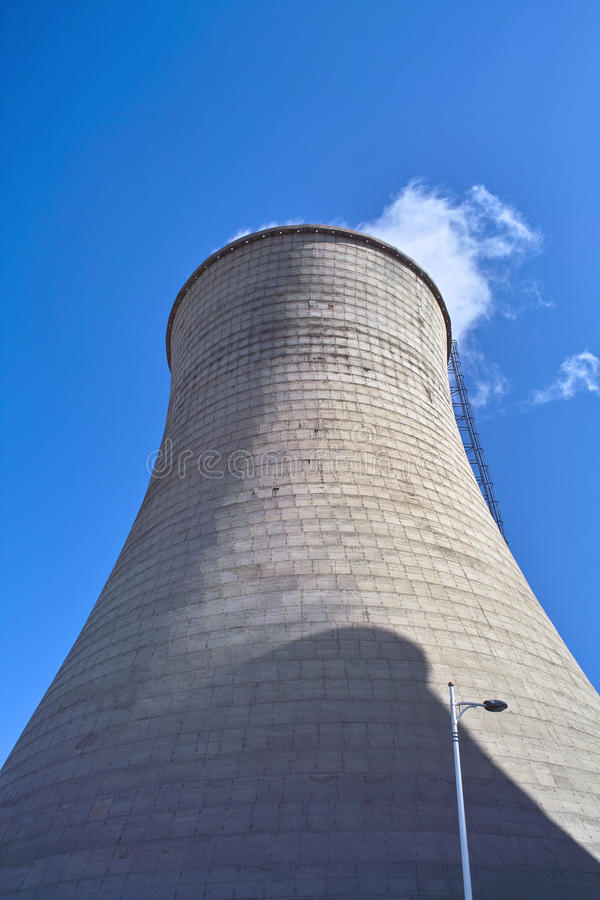 Download Cooling towers stock image. Image of tower, generator - 12151955