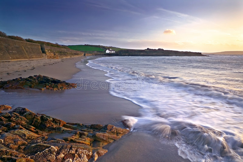 Download Coolmaine пляжа стоковое изображение. изображение насчитывающей бечевник - 6869939
