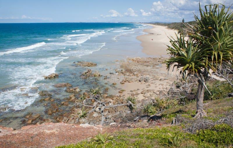 Coolum plaża zdjęcie royalty free