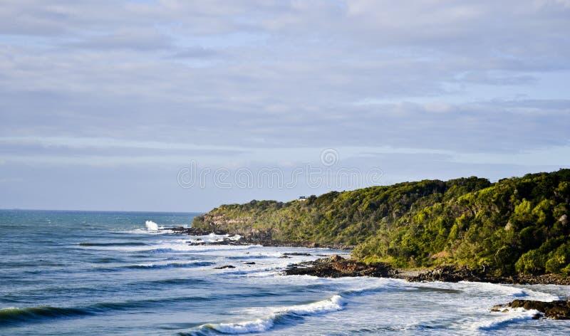 Coolum2 solskenkust, Queensland, Australien arkivfoton