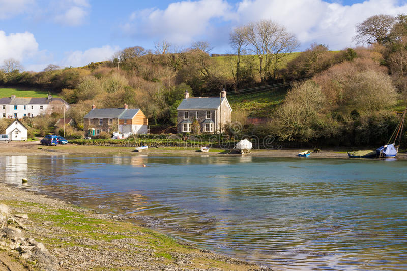 Download Coombe Cornwall stock image. Image of destination, combe - 25056821