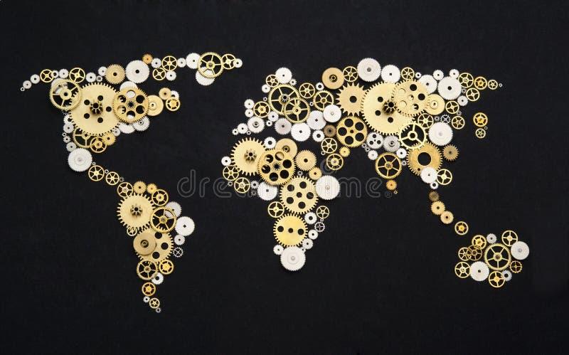 Coopération globale images libres de droits
