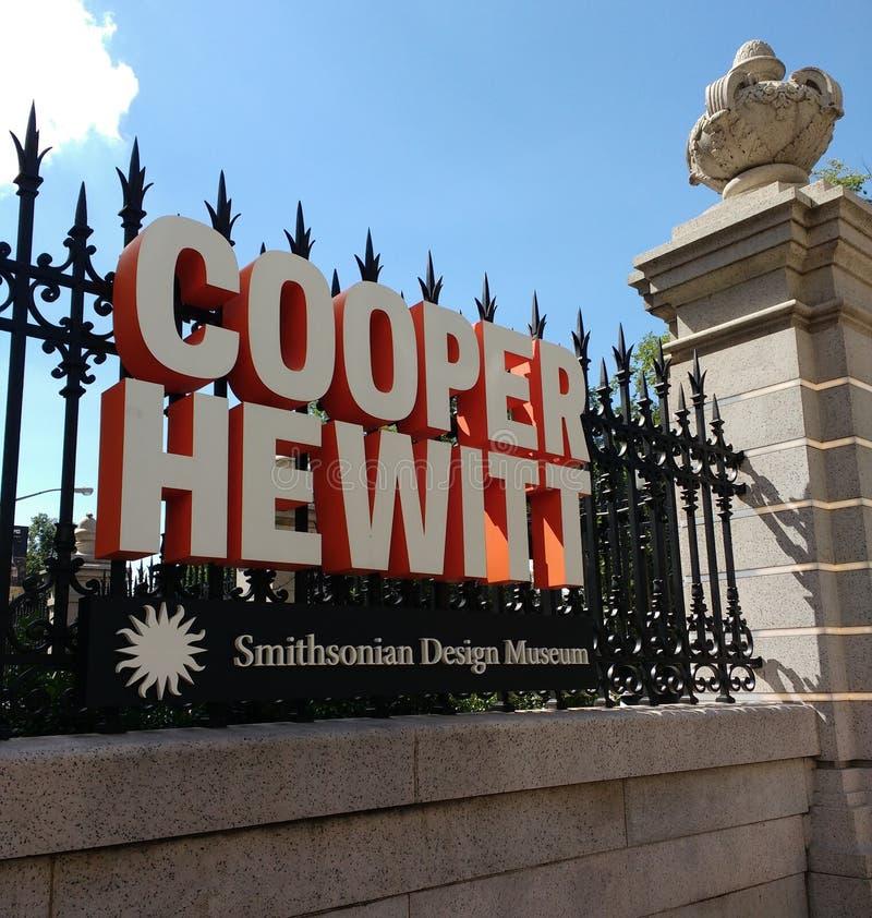 Cooper Hewitt, Smithsonian Design Museum, Manhattan, NYC, NY, USA royalty free stock photo