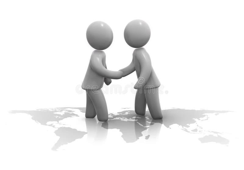 Cooperação ilustração do vetor