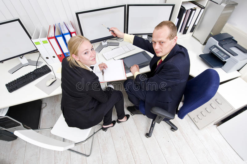 Download Cooperating Colleagues Stock Images - Image: 13242994