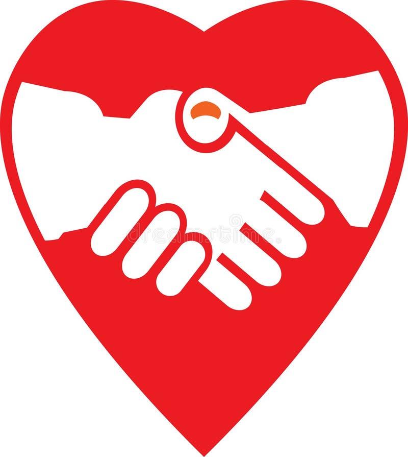 Download Cooperation stock vector. Image of commerce, handshake - 13462940
