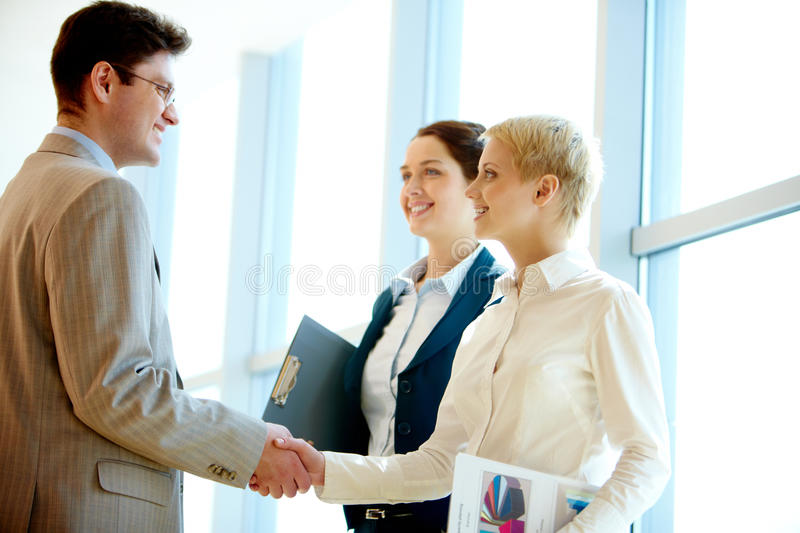 Cooperation royalty free stock image